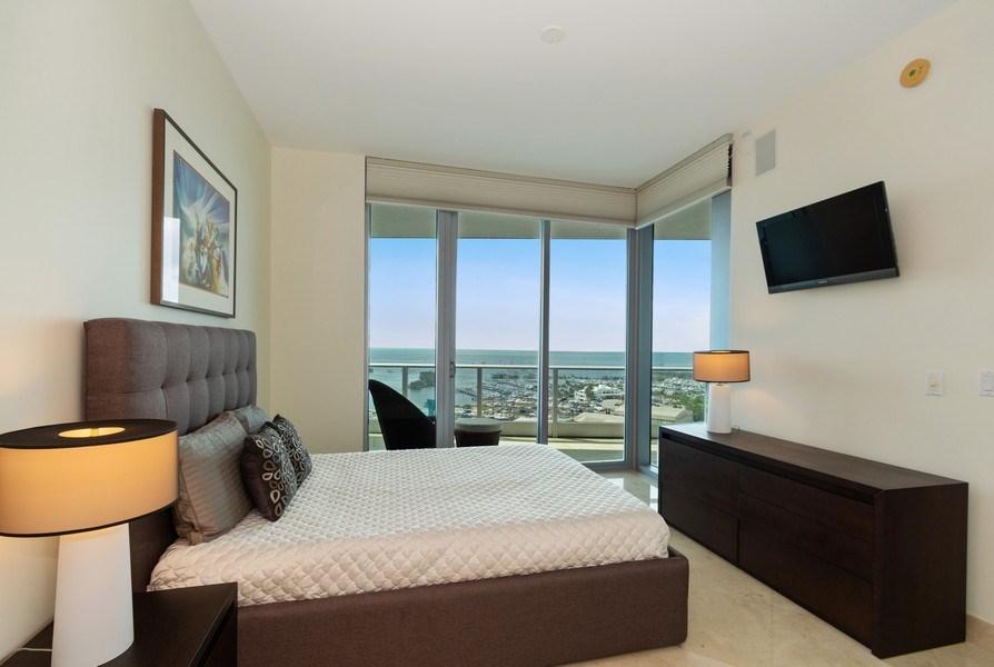 Real Estate Photography - 2627 S Bayshore Dr apt 2006, Coconut Grove, FL, 33133 - Bedroom