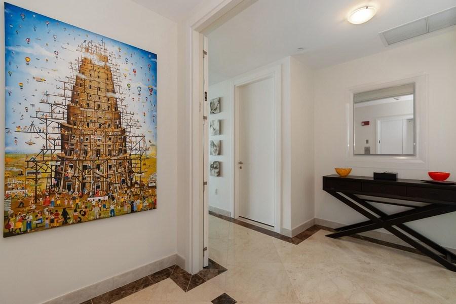 Real Estate Photography - 2627 S Bayshore Dr apt 2006, Coconut Grove, FL, 33133 - Foyer