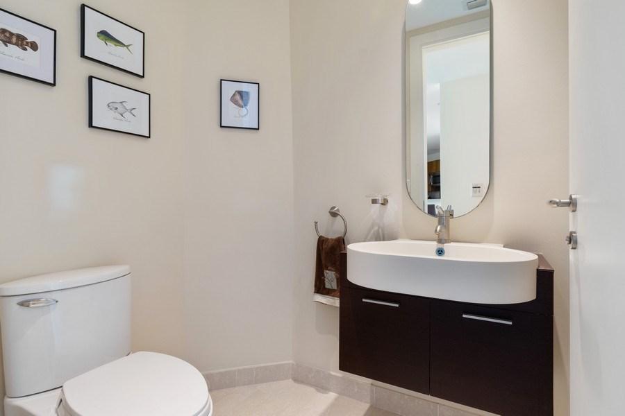 Real Estate Photography - 2627 S Bayshore Dr apt 2006, Coconut Grove, FL, 33133 - Half Bath