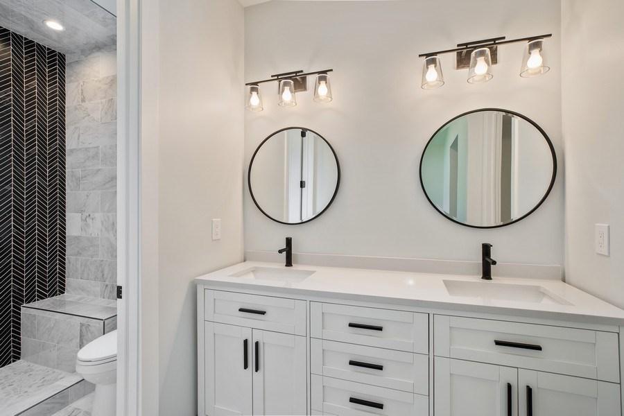 Real Estate Photography - 33558 Rhonswood, Farmington Hills, MI, 48335 - Master Bathroom