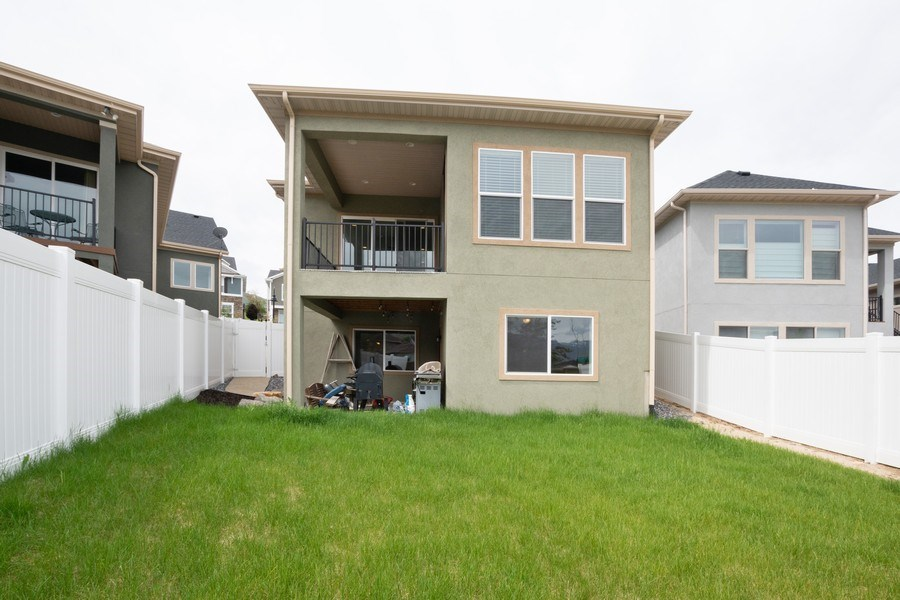 Real Estate Photography - 14127 S DEER ARCH LN, Draper, UT, 84020 - Rear View