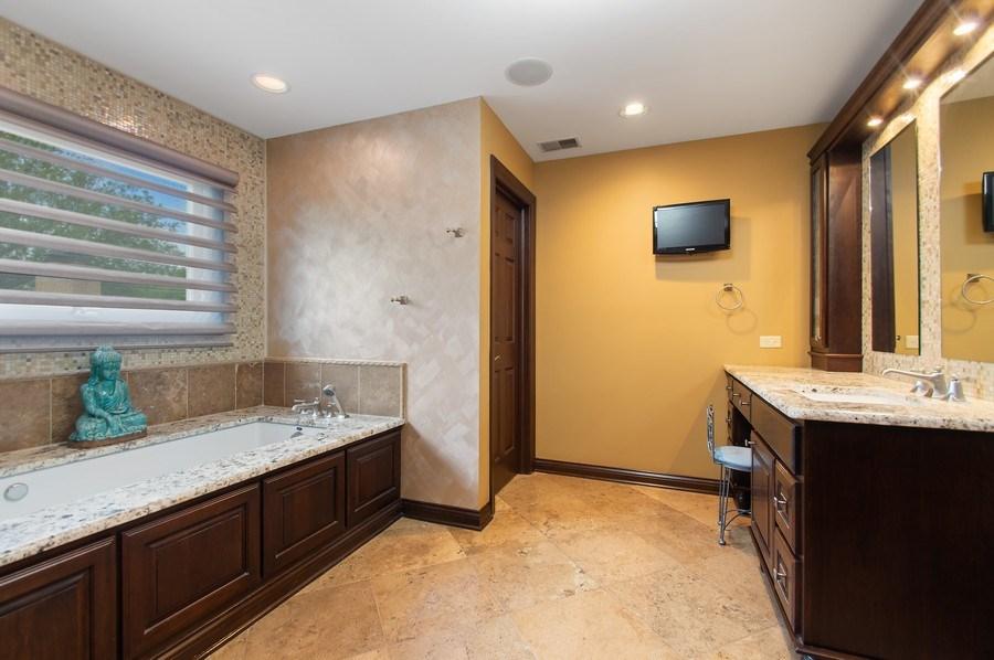 Real Estate Photography - 815 S. Western, Park Ridge, IL, 60068 - Master Bathroom