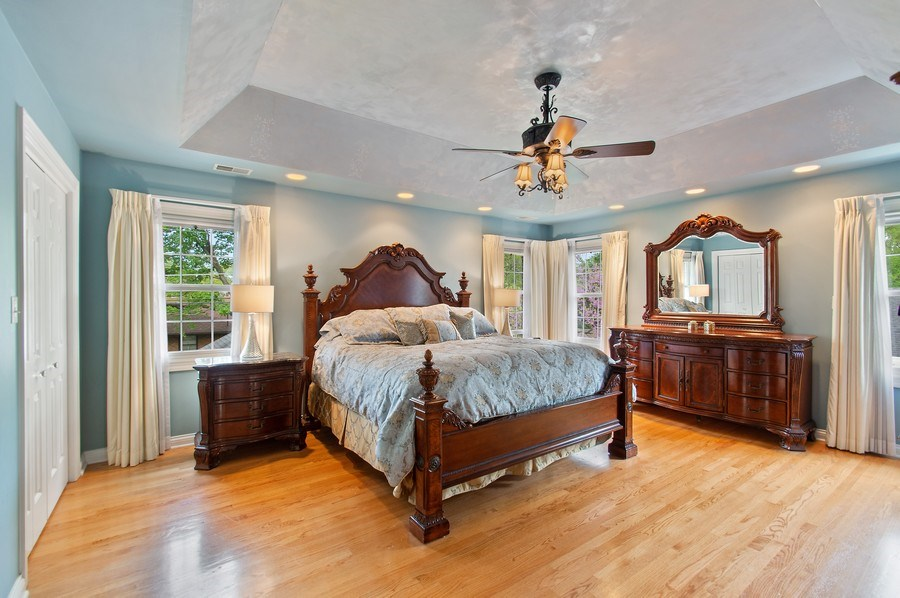 Real Estate Photography - 815 S. Western, Park Ridge, IL, 60068 - Master Bedroom