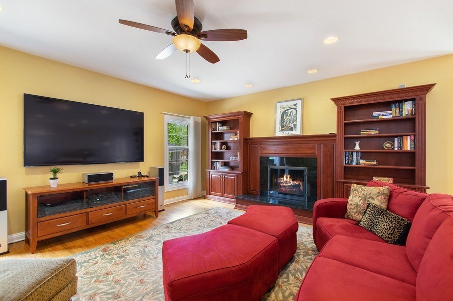 Real Estate Photography - 815 S. Western, Park Ridge, IL, 60068 - Family Room