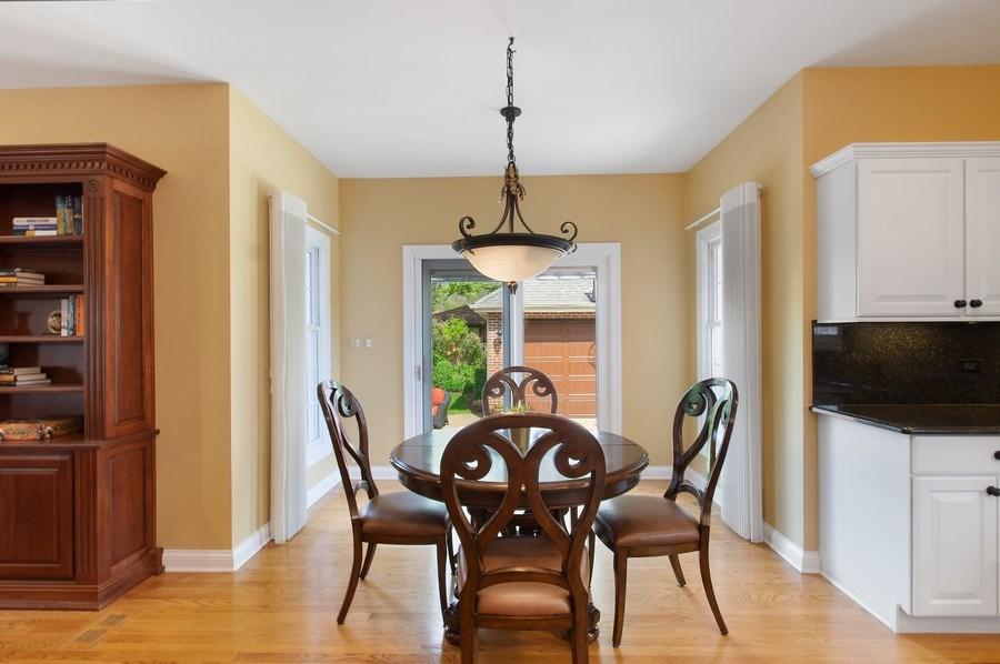 Real Estate Photography - 815 S. Western, Park Ridge, IL, 60068 - Breakfast Nook