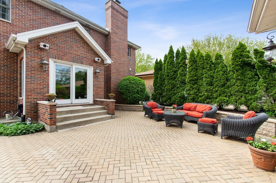 Real Estate Photography - 815 S. Western, Park Ridge, IL, 60068 - Patio
