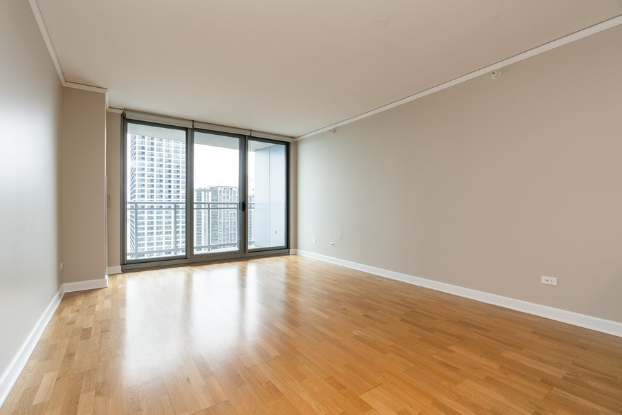 Real Estate Photography - 450 E Waterside, 2604, Chicago, IL, 60601 - Living Room