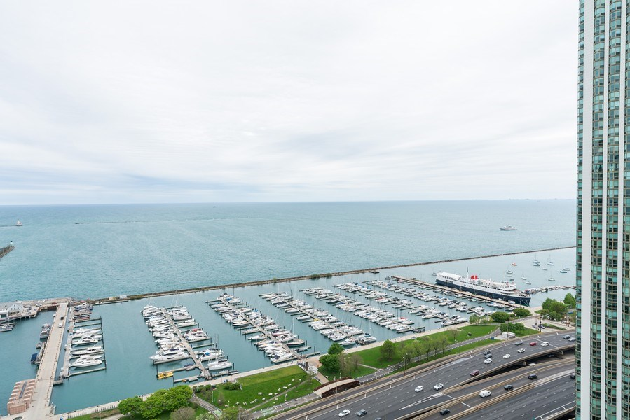 Real Estate Photography - 450 E Waterside, 2604, Chicago, IL, 60601 - View