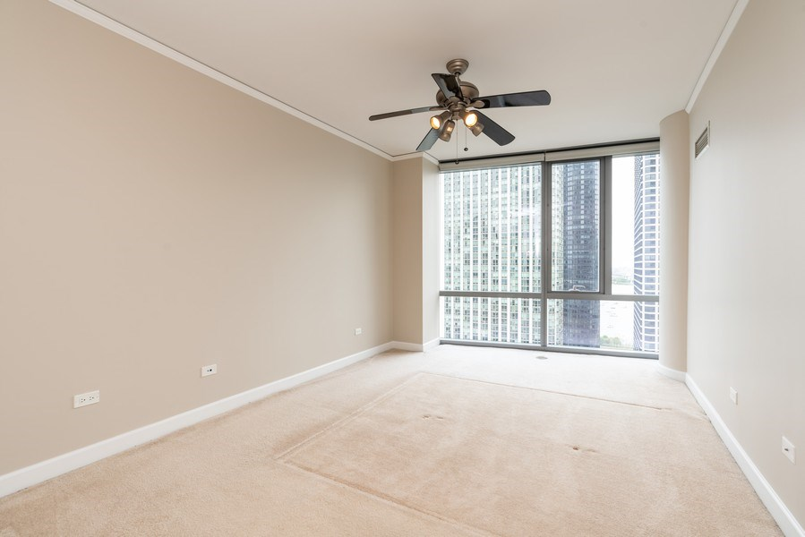 Real Estate Photography - 450 E Waterside, 2604, Chicago, IL, 60601 - Bedroom