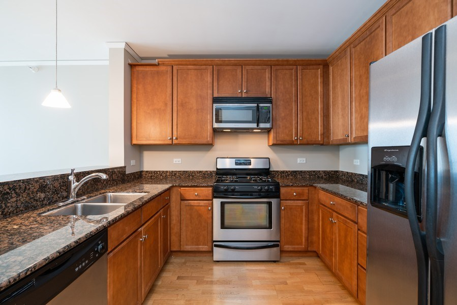 Real Estate Photography - 450 E Waterside, 2604, Chicago, IL, 60601 - Kitchen