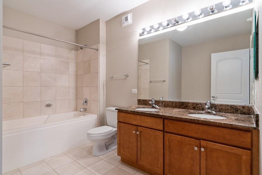 Real Estate Photography - 450 E Waterside, 2604, Chicago, IL, 60601 - Bathroom