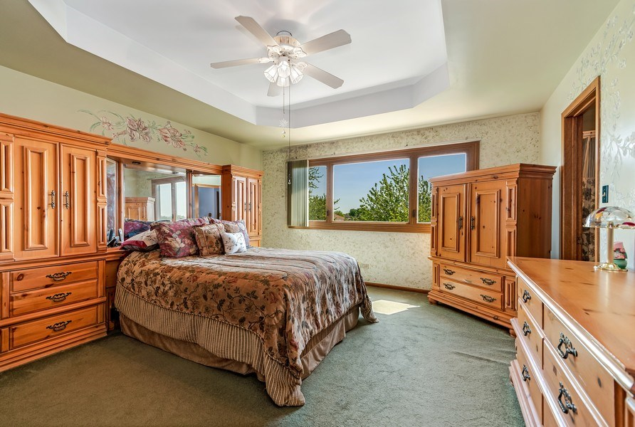 Real Estate Photography - 19603 S Highview Ln, Frankfort, IL, 60423 - Master Bedroom