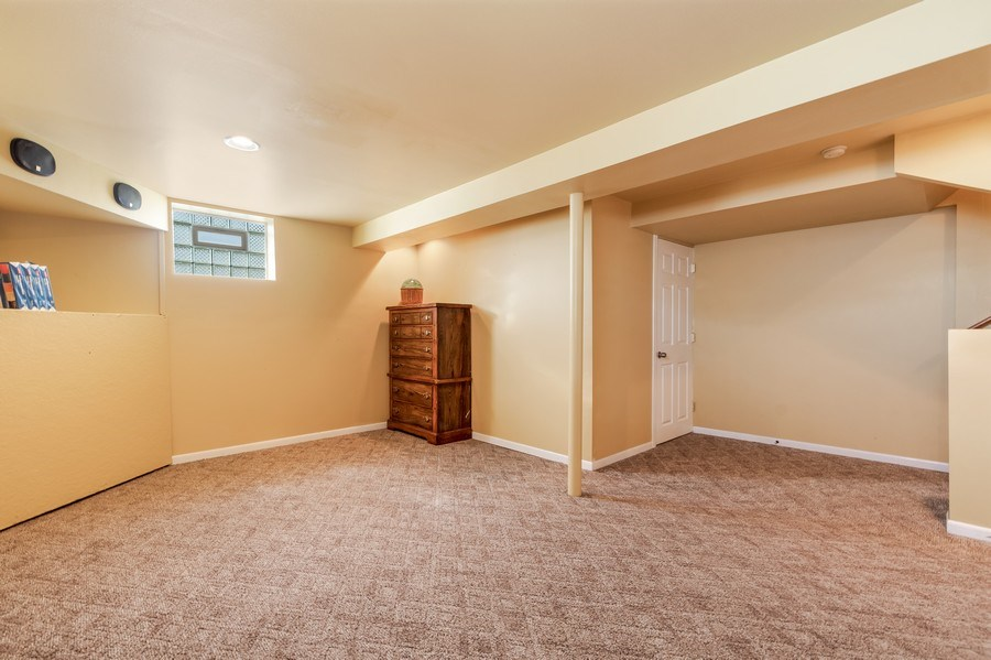 Real Estate Photography - 19603 S Highview Ln, Frankfort, IL, 60423 - Finished Basement Recreation Room