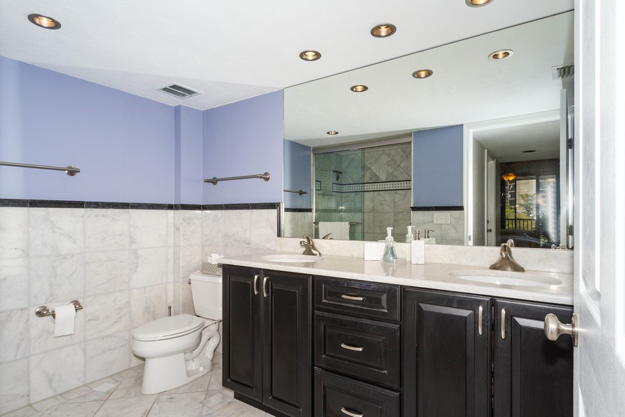 Real Estate Photography - 11030 Gulf Shore Blvd unit 304, Naples, FL, 34108 - Master Bathroom