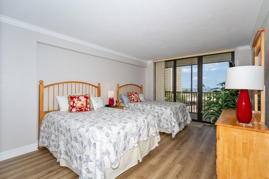 Real Estate Photography - 11030 Gulf Shore Blvd unit 304, Naples, FL, 34108 - Bedroom