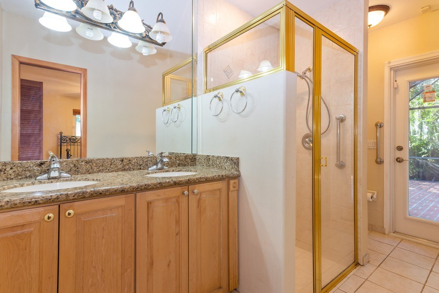Real Estate Photography - 7515 SW 167 Street, Palmetto Bay, FL, 33157 - Master Bathroom