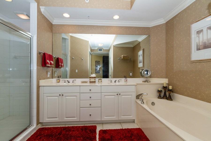 Real Estate Photography - 410 FLAGSHIP DR #1105, Naples, FL, 34108 - Master Bathroom