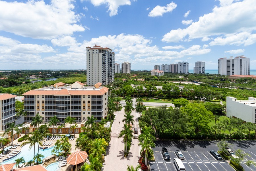 Real Estate Photography - 410 FLAGSHIP DR #1105, Naples, FL, 34108 - View