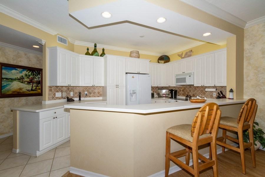 Real Estate Photography - 410 FLAGSHIP DR #1105, Naples, FL, 34108 - Kitchen