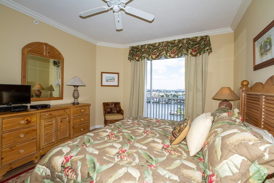 Real Estate Photography - 410 FLAGSHIP DR #1105, Naples, FL, 34108 - Master Bedroom