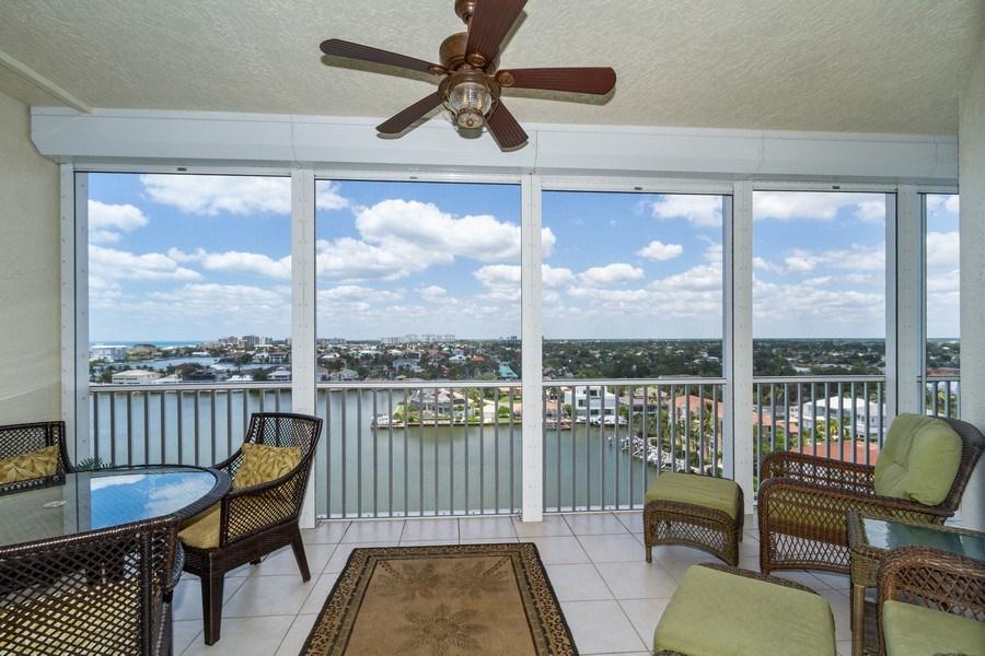 Real Estate Photography - 410 FLAGSHIP DR #1105, Naples, FL, 34108 - Lanai