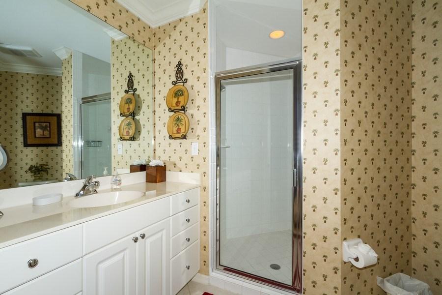 Real Estate Photography - 410 FLAGSHIP DR #1105, Naples, FL, 34108 - Bathroom