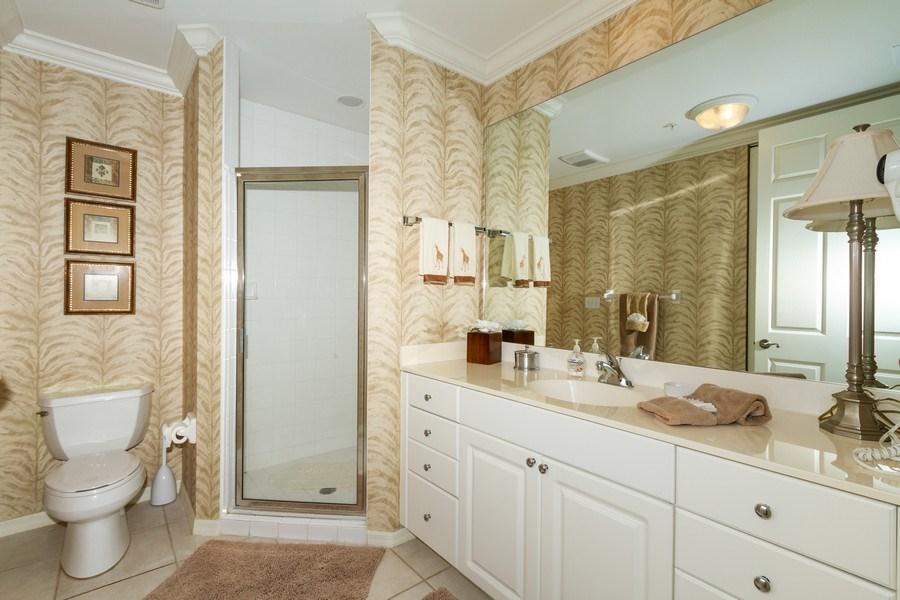 Real Estate Photography - 410 FLAGSHIP DR #1105, Naples, FL, 34108 - 2nd Bathroom