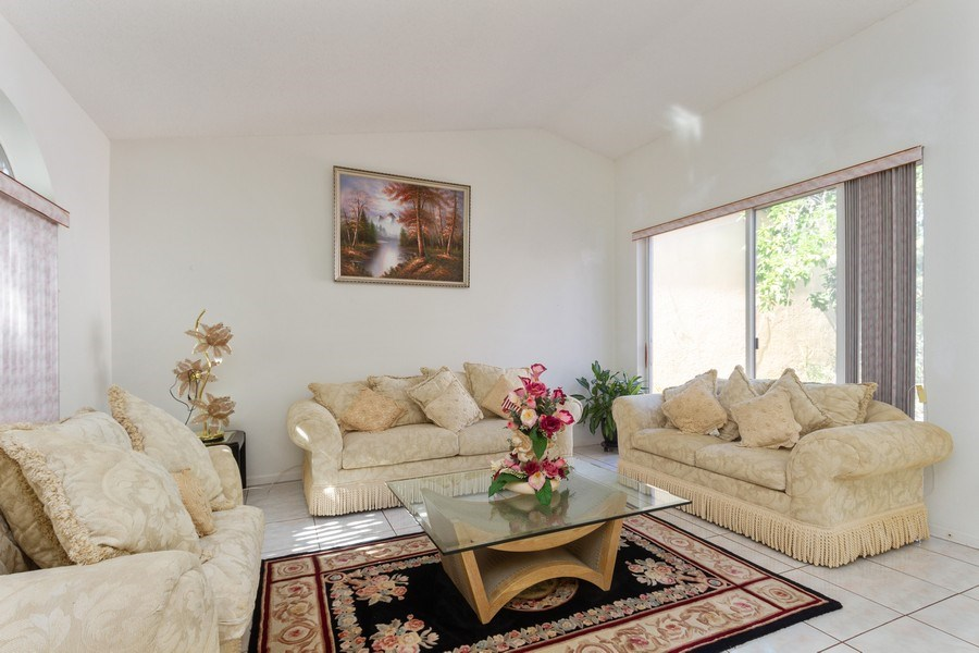 Real Estate Photography - 5351 NW 106th Dr, Coral Springs, FL, 33076 - Living Room