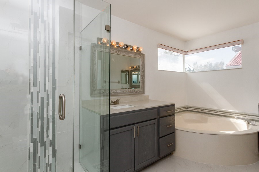 Real Estate Photography - 5351 NW 106th Dr, Coral Springs, FL, 33076 - Master Bathroom