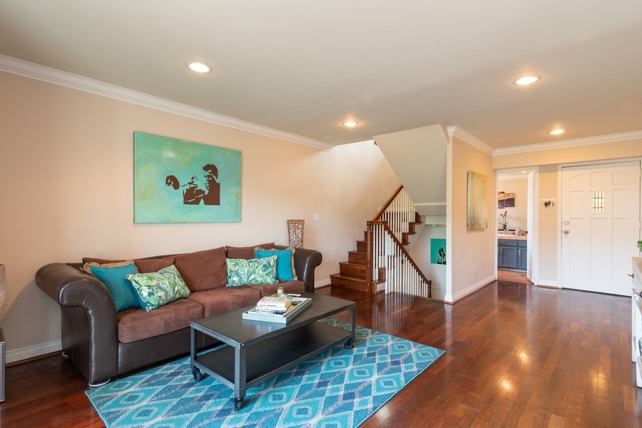 Real Estate Photography - 3550 Wawona Dr, San Diego, CA, 92106 - Living Room