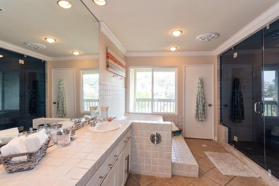 Real Estate Photography - 3550 Wawona Dr, San Diego, CA, 92106 - Master Bathroom