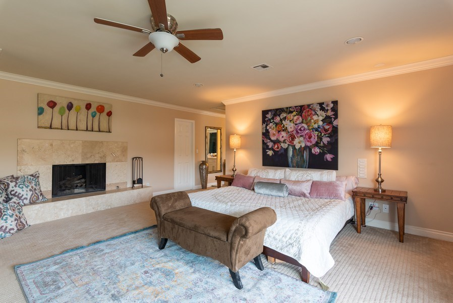 Real Estate Photography - 3550 Wawona Dr, San Diego, CA, 92106 - Master Bedroom