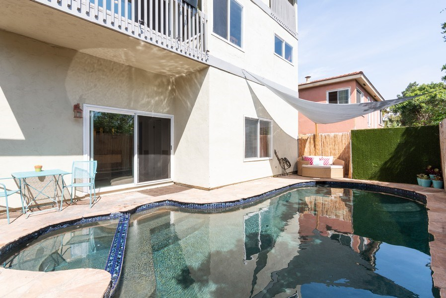Real Estate Photography - 3550 Wawona Dr, San Diego, CA, 92106 - Pool