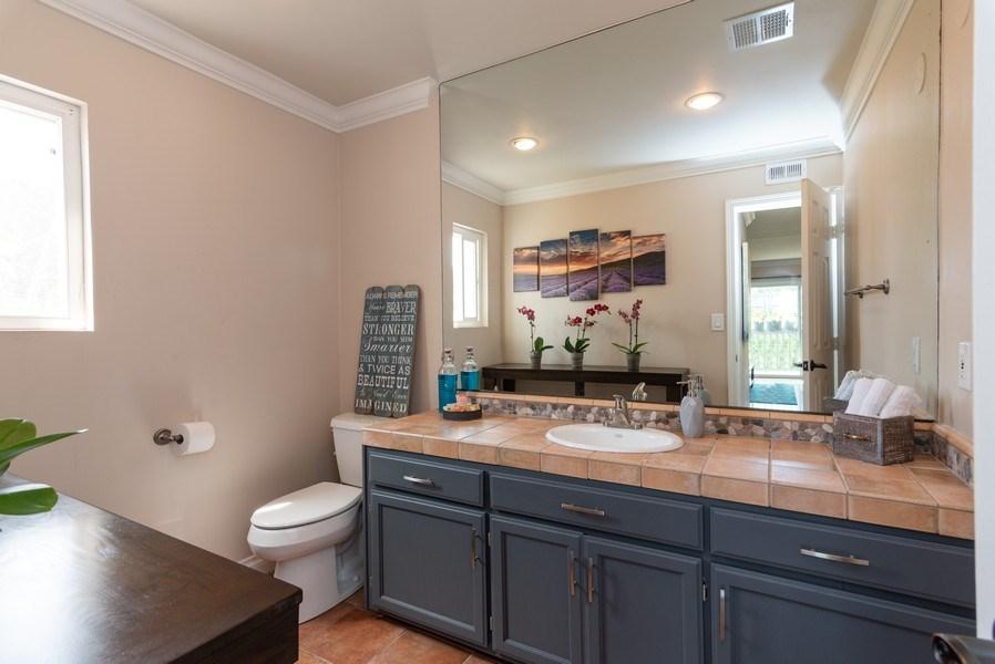 Real Estate Photography - 3550 Wawona Dr, San Diego, CA, 92106 - Bathroom