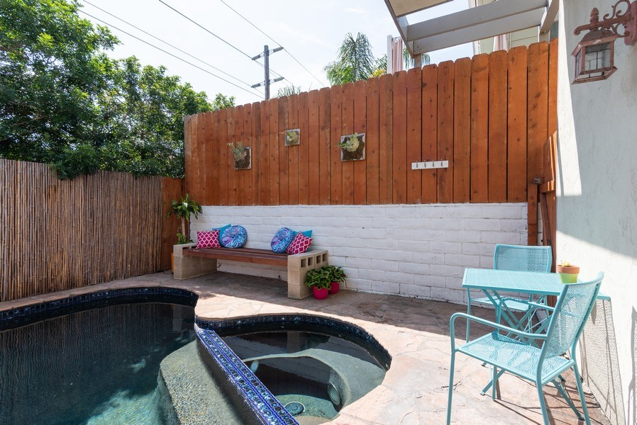 Real Estate Photography - 3550 Wawona Dr, San Diego, CA, 92106 - Pool/Spa