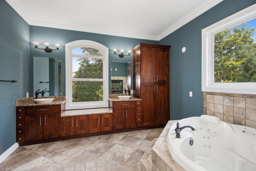 Real Estate Photography - 2211 Crosby Dr, Valrico, FL, 33594 - Master Bathroom