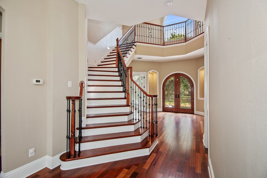 Real Estate Photography - 2211 Crosby Dr, Valrico, FL, 33594 - Staircase