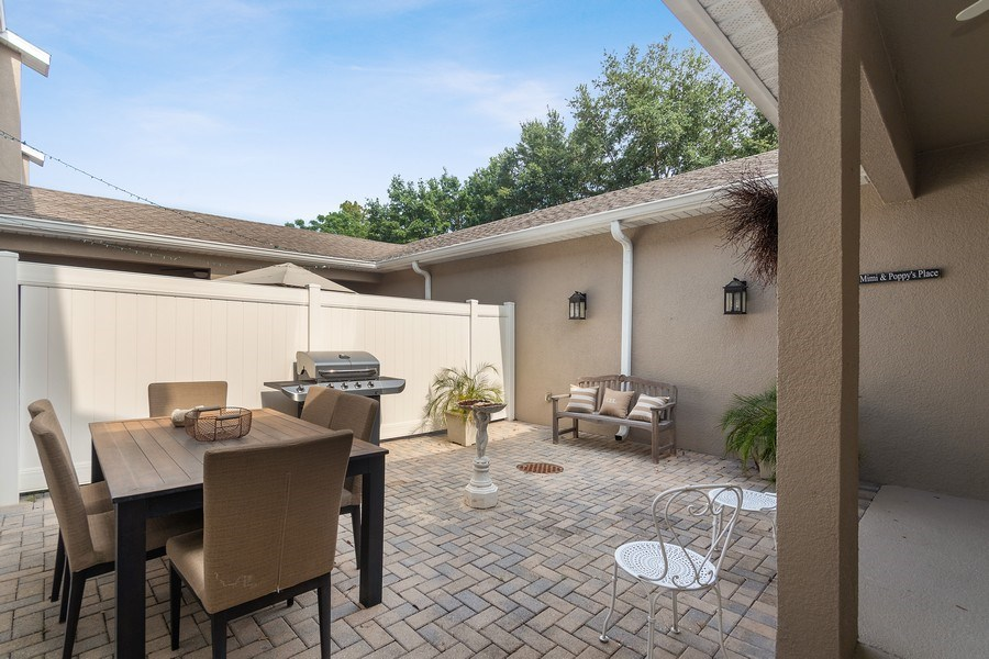 Real Estate Photography - 517 Shining Armor Ln, Longwood, FL, 32779 - Private Rear Courtyard