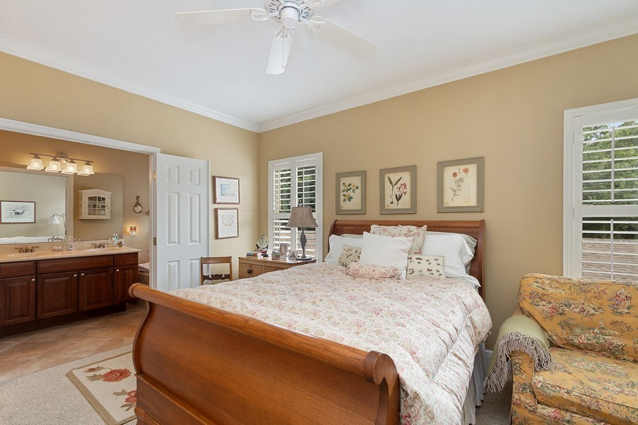 Real Estate Photography - 517 Shining Armor Ln, Longwood, FL, 32779 - Dbl Door Entry to Master Bath