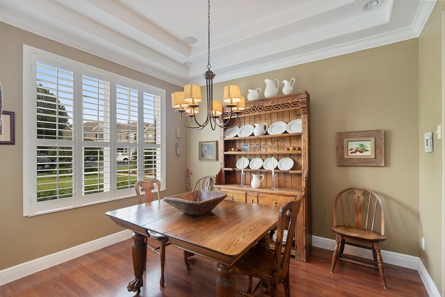 Real Estate Photography - 517 Shining Armor Ln, Longwood, FL, 32779 - Dining Room