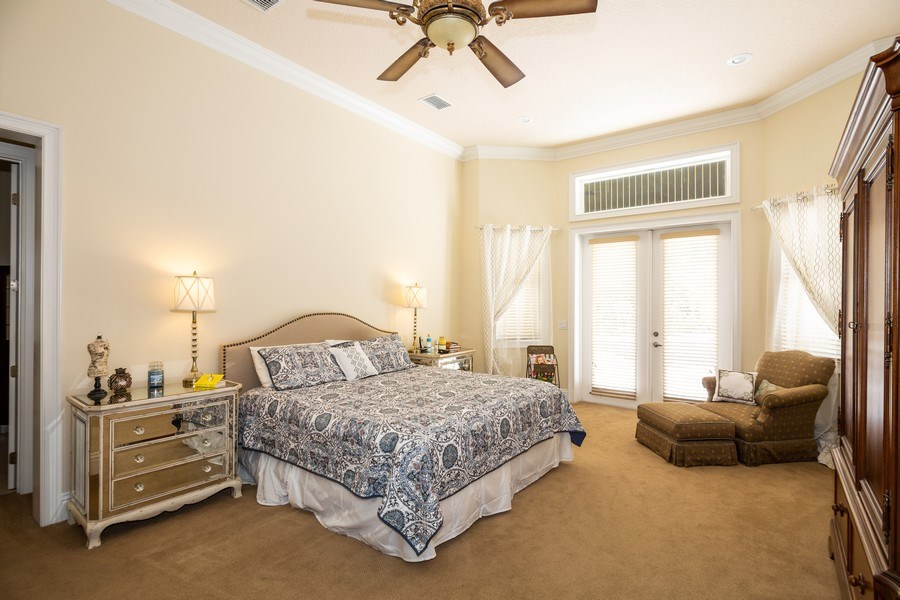 Real Estate Photography - 11441 Hammock Oaks, Lithia, FL, 33547 - Master Bedroom