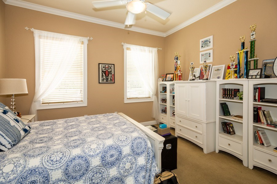 Real Estate Photography - 11441 Hammock Oaks, Lithia, FL, 33547 - 2nd Bedroom