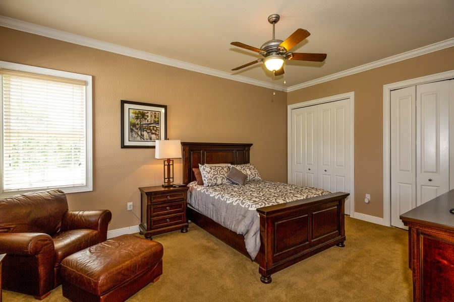 Real Estate Photography - 11441 Hammock Oaks, Lithia, FL, 33547 - 3rd Bedroom