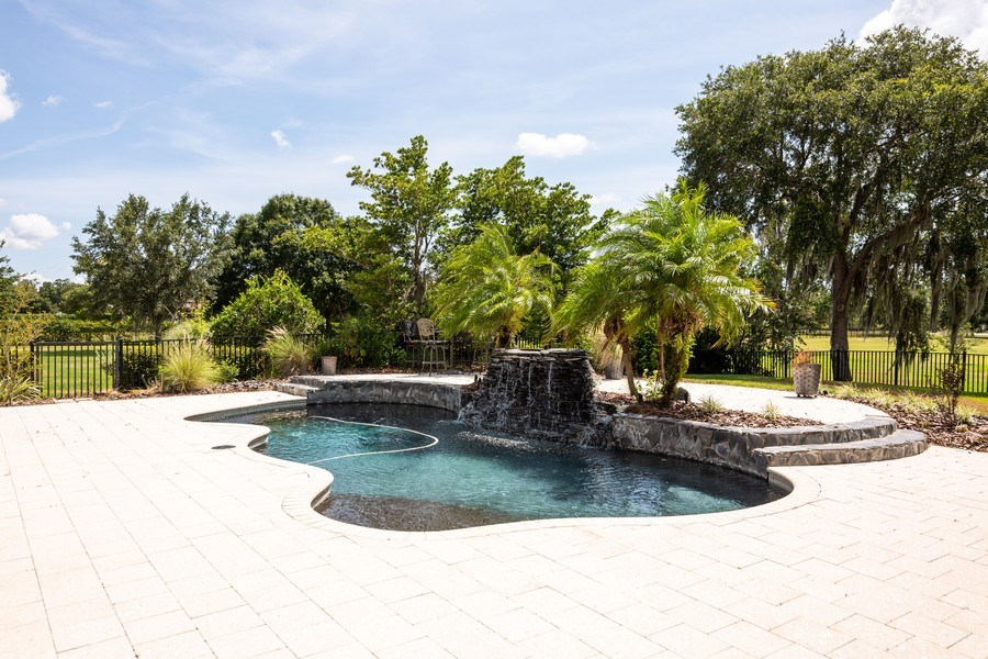 Real Estate Photography - 11441 Hammock Oaks, Lithia, FL, 33547 - Pool