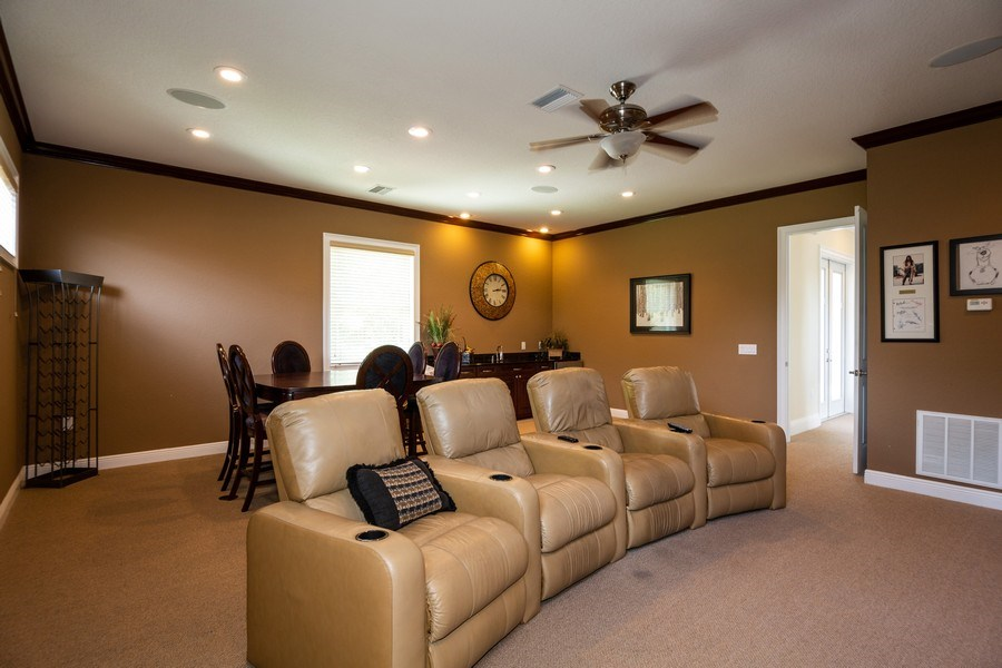 Real Estate Photography - 11441 Hammock Oaks, Lithia, FL, 33547 - Game Room
