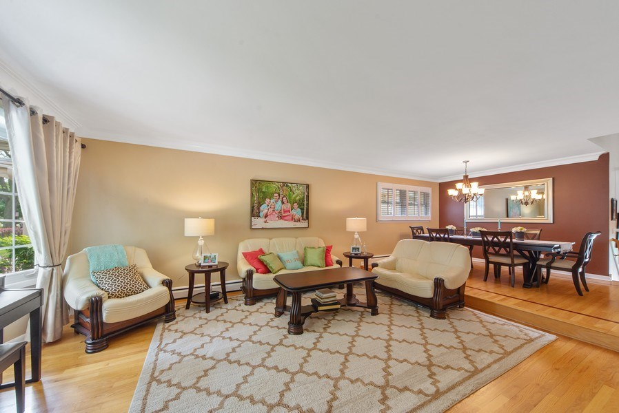Real Estate Photography - 318 N. Western Ave., Park Ridge, IL, 60068 - Living Room