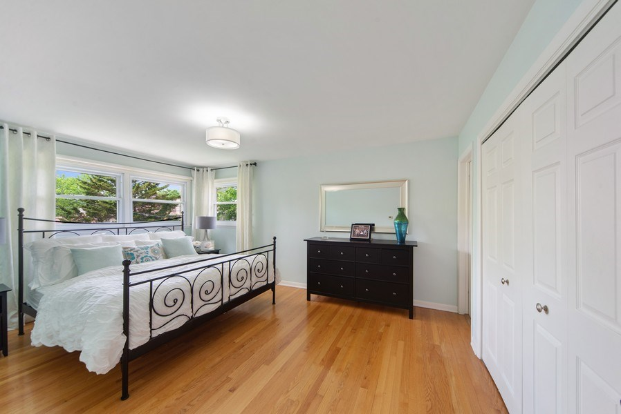 Real Estate Photography - 318 N. Western Ave., Park Ridge, IL, 60068 - Master Bedroom