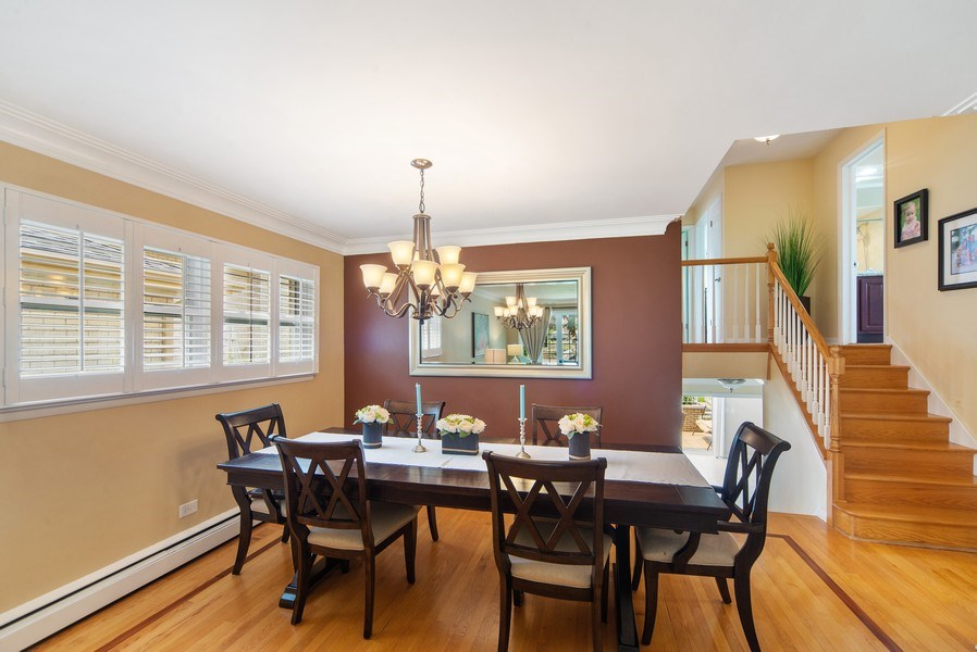Real Estate Photography - 318 N. Western Ave., Park Ridge, IL, 60068 - Dining Room