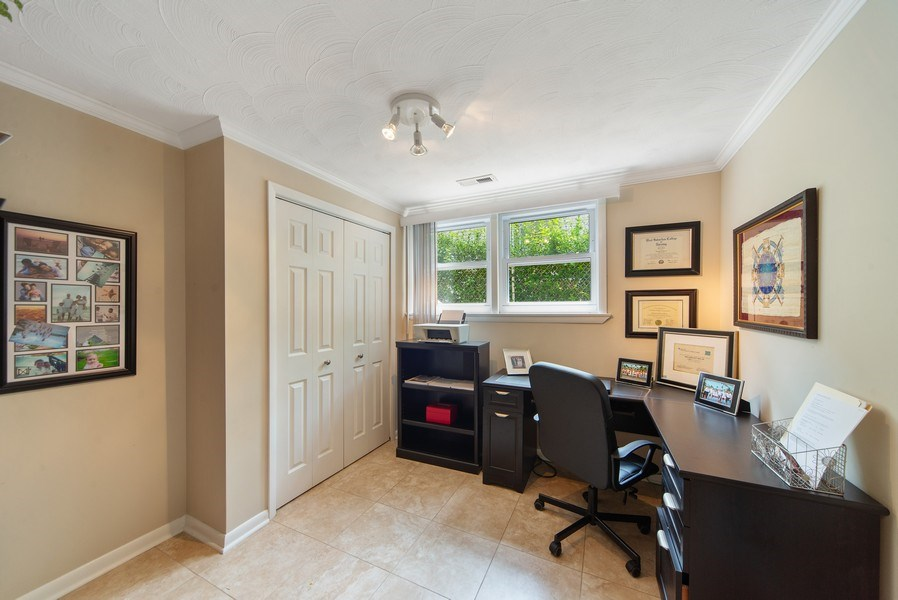 Real Estate Photography - 318 N. Western Ave., Park Ridge, IL, 60068 - Bedroom 4 / Office