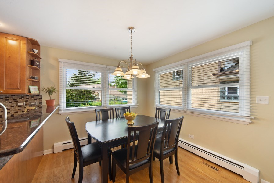 Real Estate Photography - 318 N. Western Ave., Park Ridge, IL, 60068 - Breakfast Nook